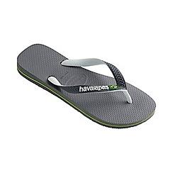 Havaianas - Grey Brasil mix flip flops