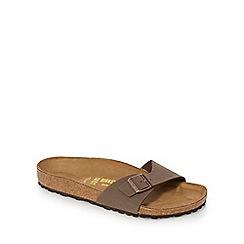 Birkenstock - Brown 'Madrid' sandals