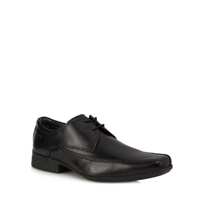 Sexy Clarks Mens Smart Aze Day Leather Shoes In Blacks