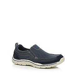 Skechers - Navy 'Expected Tomen' trainers