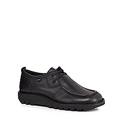 Kickers - Black 'Kick Wallibi' lace up shoes