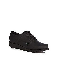 Kickers - Black 'Kick Lo' lace up shoes