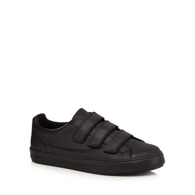 Kickers - Black leather 'Tovni' trainers