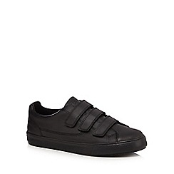 Kickers - Black leather 'Tovni' trainers