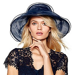Hatbox - Navy oversize layered hat