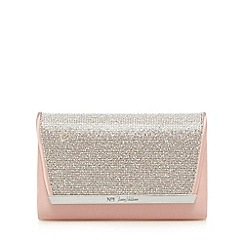 No. 1 Jenny Packham - Pink diamante clutch bag