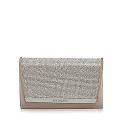 No. 1 Jenny Packham - Natural diamante clutch bag