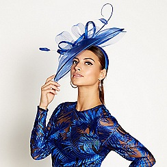 Star by Julien Macdonald - Blue statement feather headband
