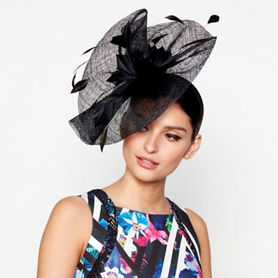 star-by-julien-macdonald---black-floral-sinamay- e37aacaf09e