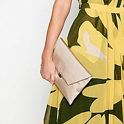 J by Jasper Conran - Natural envelope clutch bag