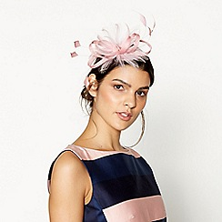 J by Jasper Conran - Pink feather fascinator