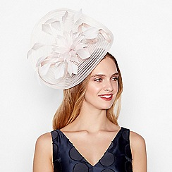 J by Jasper Conran - Light pink stitched crin floral fascinator