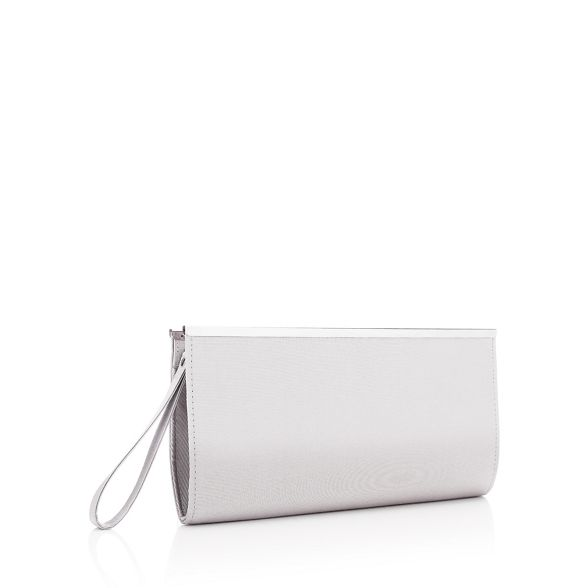 Debut top bag clutch zip Grey 78qx7aR