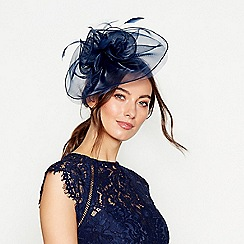 Debut - Navy organza fascinator d67a2992a09