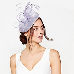 Debut - Lilac 'Bon Bon' swoop fascinator
