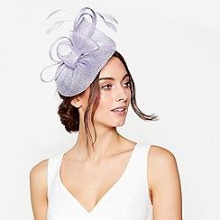 Debut - Lilac 'Bon Bon' swoop fascinator