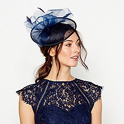 Debut - Debut - Navy mini saucer fascinator