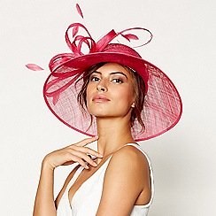 Debut - Bright pink crystal loopy hat