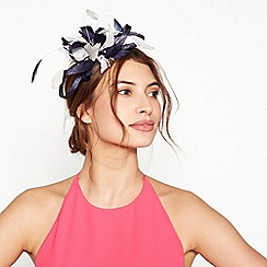 Debut - Navy loop bow sparkle headband