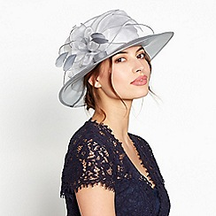 Debut Grey Two Tone Packable Organza Hat