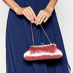 No. 1 Jenny Packham - Rose pleated clutch bag