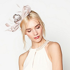 No. 1 Jenny Packham - Pink embellished bow headband