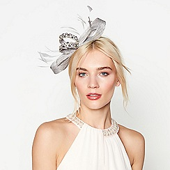 No. 1 Jenny Packham - Silver embellished bow headband