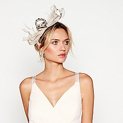 No. 1 Jenny Packham - Gold embellished bow headband