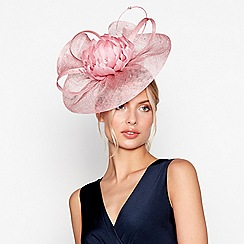 No. 1 Jenny Packham - Pink flower feather fascinator