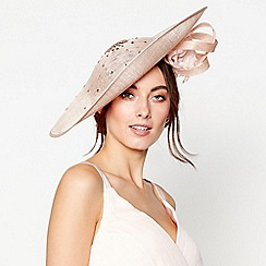 No. 1 Jenny Packham - Light pink scattered diamante saucer fascinator