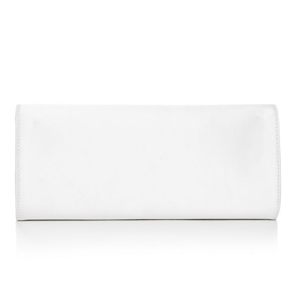 Jenny Ivory clutch diamante No 1 bag Packham bow satin wa55pqC
