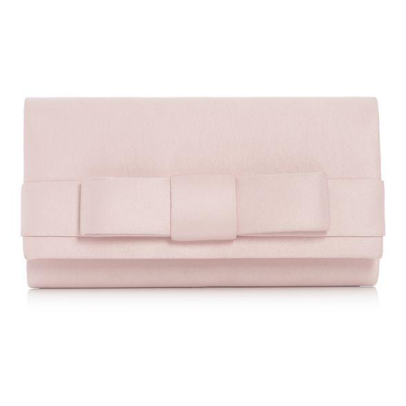 Debut satin Pink Debut Pink bag bow 8qSyvgZ