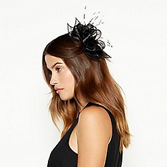 Debut - Black organza hair clip