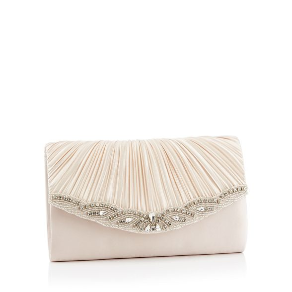 1 Packham diamante No bag 'Mairee' Jenny clutch embellished Navy satin HqTdvxdA