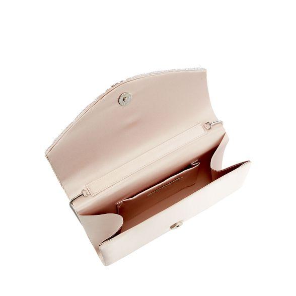 clutch satin embellished Jenny Navy 1 'Mairee' No Packham diamante bag wWBPIW8q