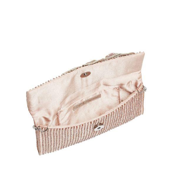 No clutch Jenny 1 flower Pink cluster Packham bag rn7rgqHOw