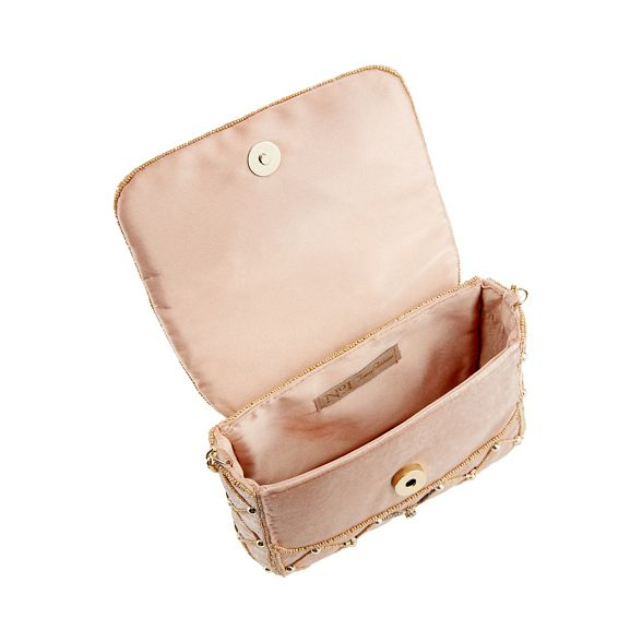 Jenny No velvet clutch Light Packham 1 pink bag embellished B5xq65vw
