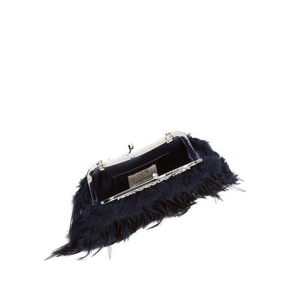 Packham frame 1 bag Navy Jenny clutch No feather zAEwqZSwx