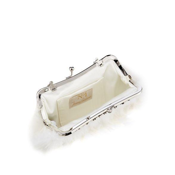 No Ivory 1 Packham frame bag feather Jenny clutch RxRq8nr