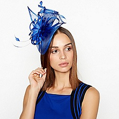 Star by Julien Macdonald - Blue Flower Bon Swoop Fascinator 976187dc3e1