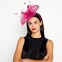 Star by Julien Macdonald - Pink Mini Saucer Fascinator