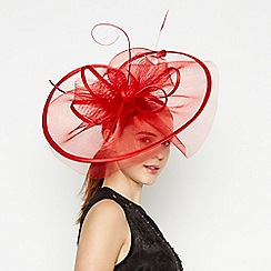 Star by Julien Macdonald - Red Statement Fascinator
