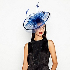 Star by Julien Macdonald - Blue Statement Fascinator 7264a8dd554