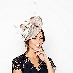Debut - Natural Quil Swoop Fascinator