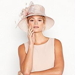 Debut - Pink Bow Flower Downbrim Hat