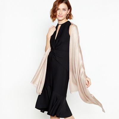Scarf Formal Dress