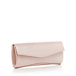 Debut - Pink Glitter Clutch Bag