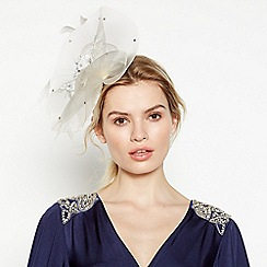 No. 1 Jenny Packham - Ivory Lace Cloud Fascinator