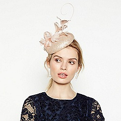 No. 1 Jenny Packham - Gold Sequin Overlay Button Fascinator