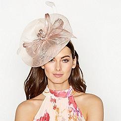 No. 1 Jenny Packham - Pink Gemstone Bow Saucer Fascinator